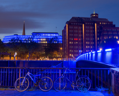 Wandrahmstegsbrücke Hamburg