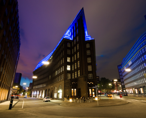 Blue Port Chilehaus Hamburg