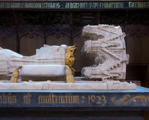 Sarkophag der Königin Margarethe, Dom von Roskilde