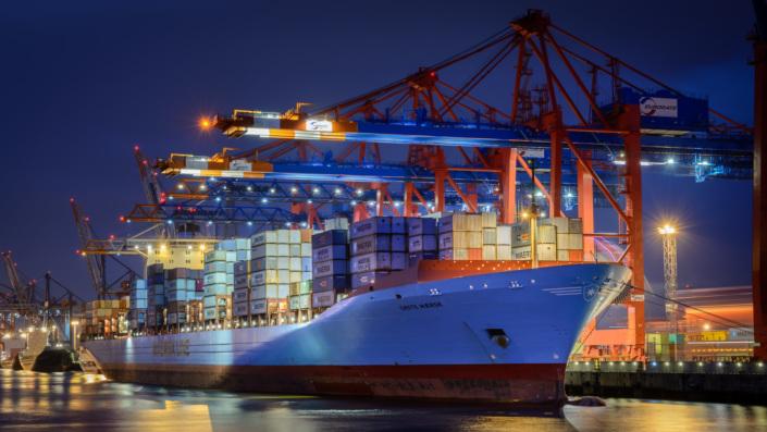 Containerschiff Grete Maersk