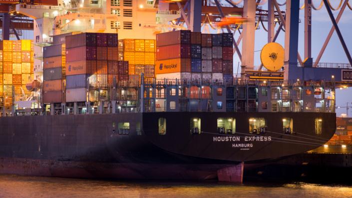 Containerschiff Houston Express