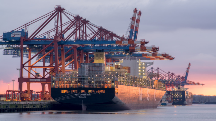 MSC Laurence Containerschiff