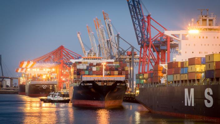 Containerschiff MSC Shanghai