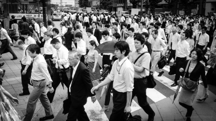 Shinjuku Pedestrians