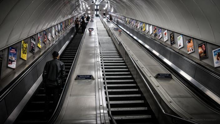 London Underground Stairway