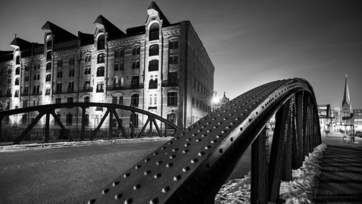 Wandbereiterbrücke Speicherstadt, Hamburg