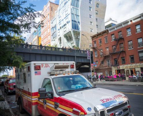 The Highline (im Hintergrund)