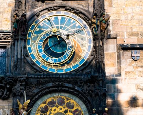 astronomische Uhr, Rathaus, Prag