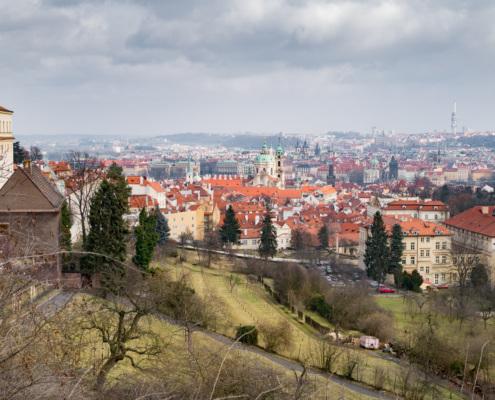 Ausblick auf die Stadt, Prag