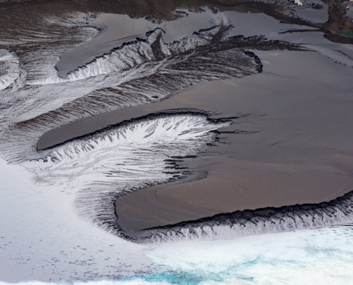 Bizarre Formation im Jökulsárgljúfur Tal