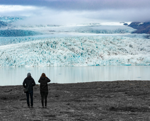 Gletscher am Vatnajoküll