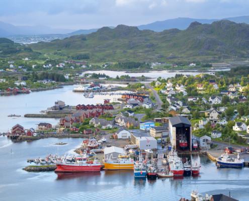 Hafen in Ballstad