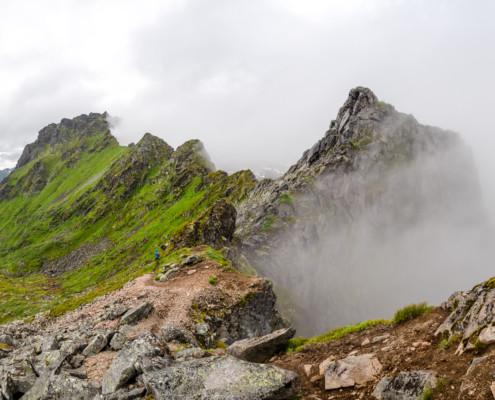 Berge bei Svolvær