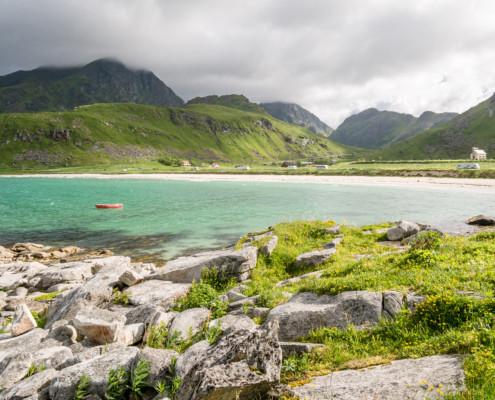 Strand von Haukland